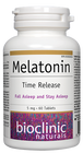 Bioclinic Naturals Melatonin 5 mg - Time Release 60 Tablets