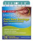 Quantum Health Lip Clear Invisible Cold Sore Bandage 12 Per Pack