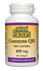 Natural Factors Coenzyme Q10 400 mg 60 Softgels