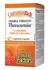 Natural Factors CurcuminRich Theracurmin Double Strength 60 Veg Capsules