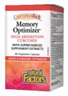 Natural Factors CurcuminRich Memory Optimizer 60 Veg Capsules