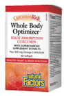 Natural Factors CurcuminRich Whole Body Optimizer 60 Softgels