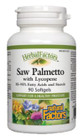Natural Factors HerbalFactors Saw Palmetto With Lycopene 90 Softgels