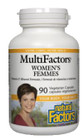 Natural Factors Women's MultiFactors 90 Veg Capsules
