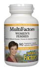 Natural Factors Women's MultiFactors 90 Veg Capsules