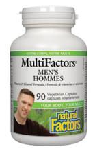 Natural Factors Men's MultiFactors 90 Veg Capsules