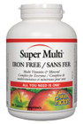 Natural Factors Super Multi Iron Free 180 Tablets