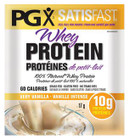 Natural Factors PGX Satisfast Whey Protein Very Vanilla Packets 12 x 17g