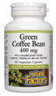 Natural Factors Green Coffee Bean 400 mg 60 Veg Capsules
