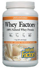Natural Factors Whey Factors 100% Natural Whey Protein Unflavoured 1 kg