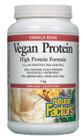 Natural Factors Vegan Protein High Protein Formula Vanilla Bean 1 kg