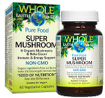 Whole Earth & Sea Super Mushroom 60 Veg Capsules By Natural Factors