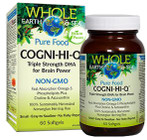 Whole Earth & Sea Cogni-Hi-Q Triple Strength DHA 60 Softgels By Natural Factors