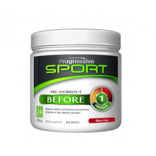 Progressive Sport Before Pre Workout Cherry Lime 318g