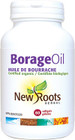 New Roots Borage Oil 1000 mg 60 Softgels