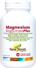 New Roots Magnesium Bisglycinate Plus 150 mg 120 Veg Capsules