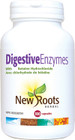 New Roots Digestive Enzymes 100 Veg Capsules