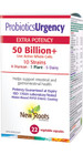 Probiotics Urgency 50 Billion 22 Veg Capsules
