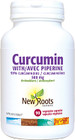 New Roots Curcumin 500 mg 90 Veg Capsules