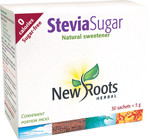New Roots Stevia Sugar Spoonable 30 X 5 g Sachets