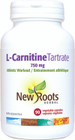 New Roots L-Carnitine Tartrate 750 mg 90 Veg Capsules