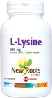 New Roots L-Lysine 500 mg 250 Veg Capsules