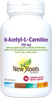 New Roots N-Acetyl-L-Carnitine 90 Veg Capsule