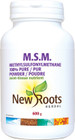 New Roots M.S.M. Powder 600 g