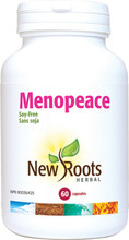 New Roots Menopeace 60 Veg Capsules