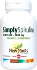 New Roots Simply Spirulina 1000 mg 360 Tablets