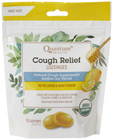 Quantum Health Cough Relief Organic Meyer Lemon Flavor 18 Lozenges