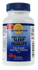 Nature's Harmony Sleep Tight Extra Strength Melatonin 5 mg 105 Tablets