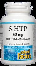 Natural Factors 5-HTP 100 mg 60 Enteric Coated Caplets