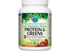 Whole Earth & Sea Organic Fermented Organic Protein & Greens Chocolate 405 g