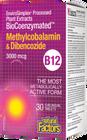 Natural Factors BioCoenzymated Methylcobalamin & Dibencozide 30 Sublingual Tablets