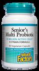 Natural Factors Senior's Multi Probiotic 30 Veg Capsules
