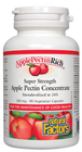 Natural Factors ApplePectinRich Super Strength Apple Pectin Concentrate 500 mg 90 Veg Capsules