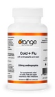 Orange Naturals Cold + Flu with Andographis and Reishi 60 Veg Capsules