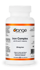 Orange Naturals Iron Complex 20 mg 60 Veg Capsules