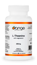 Orange Naturals L-Theanine 250 mg 60 Veg Capsules