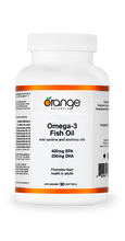 Orange Naturals Omega-3 Fish Oil 400/200mg 90 Softgels