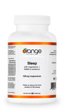 Orange Naturals Sleep with Magnesium + GABA & Melatonin 90 Capsules