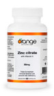 Orange Naturals Zinc Citrate 50 mg with Vitamin C 90 Capsules