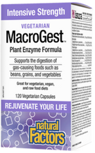 Natural Factors Vegetarian MacroGest 60 Veg Capsules