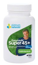 Platinum Naturals Super Easymulti For Men 45 Plus 120 Softgels