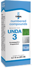 Unda 3 - 20 ml (0.7 fl oz)