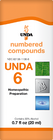 Unda 6 - 20 ml (0.7 fl oz)