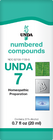 Unda 7- 20 ml (0.7 fl oz)