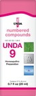 Unda 9 - 20 ml (0.7 fl oz)