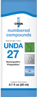 Unda 27 - 20 ml (0.7 fl oz)